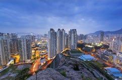 Hongkong city sunset Royalty Free Stock Photography
