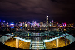 Hongkong. City view from top royalty free stock photo