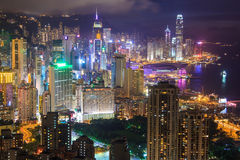 HongKong Cityscape Royalty Free Stock Photography