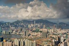Hongkong cityscape Stock Image