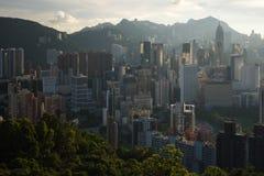 Hongkong cityscape royalty free stock image