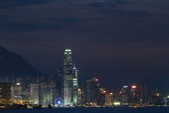 Hongkong Cityscape View from the east klm Stock Image