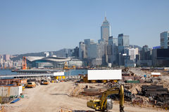 Hongkong on construct Stock Photos