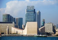 Hongkong: Cultureel Centrum stock foto
