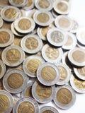 Hongkong de Muntstukken van Tien Dollars Stock Afbeeldingen