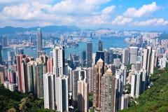 Hongkong, de piek stock afbeelding