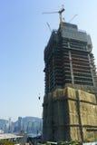 Hongkong de stad in Stock Foto