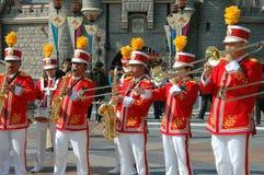 Hongkong: Disneyland het Marcheren Band royalty-vrije stock foto's