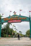 Hongkong Disneyland royalty-vrije stock foto's