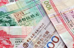Hongkong Dollar Stock Images