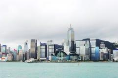 Hongkong downtown Royalty Free Stock Images