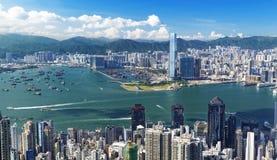 Hongkong dzień Obraz Royalty Free