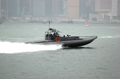 Hongkong - fast boat Royalty Free Stock Images