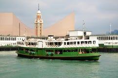 Hongkong ferry Royalty Free Stock Photos