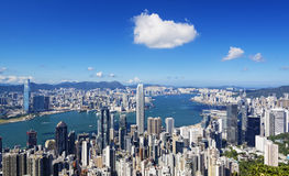 HongKong Harbour Royalty Free Stock Photos