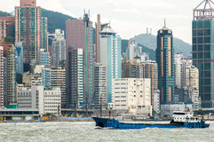 Hongkong harbour Royalty Free Stock Images