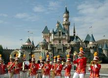 Hongkong: Het marcheren Band in Disneyland Stock Foto