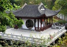Hongkong: Het Paviljoen van Nam van de long Stock Foto's