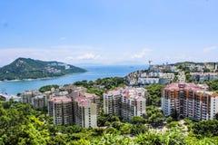 Hongkong high grade residential district Royalty Free Stock Image