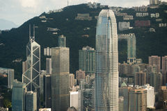 Hongkong IFC building Royalty Free Stock Image