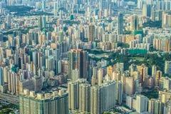 Hongkong island harbour in China Stock Image