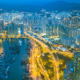 Hongkong island harbour in China Stock Photography