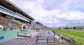 Hongkong Jockey club Shatian field Stock Photo