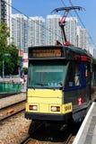 Hongkong light rail Royalty Free Stock Photo