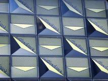Hongkong mall exterior. Hongkong mall abstract glass exterior pattern Stock Photo