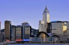 Hongkong meeting and exhibition center Stock Photos