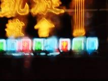 HONGKONG - Neonowi znaki Zdjęcia Royalty Free