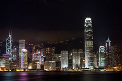 Hongkong Night Royalty Free Stock Image