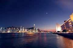 Hongkong night Royalty Free Stock Photo
