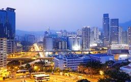 Hongkong night Stock Photos