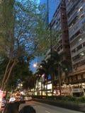Hongkong nightview Royalty-vrije Stock Foto's