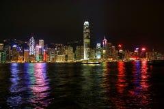 hongkong noc Obrazy Stock