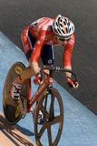 Hongkong Rider at Asian Cycling Championships 2012 Stock Photos