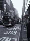 Hongkong& x27; s ruch drogowy obrazy stock