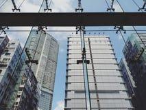 Hongkong sky royalty free stock photos