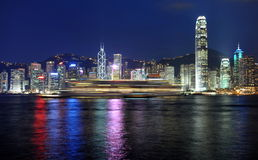 Hongkong skyline Stock Images