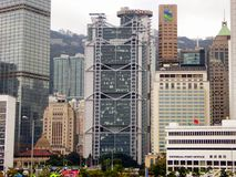 Hongkong skyline Royalty Free Stock Photography