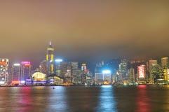 Hongkong skyline Royalty Free Stock Photo