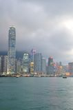 Hongkong skyline Royalty Free Stock Photography