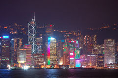 Hongkong skyline Stock Photo