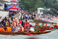 Hongkong Stanley Int'l Dragon Boat Championship Royalty-vrije Stock Afbeelding