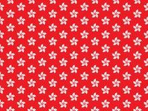 Hongkong storczykowego drzewa flaga Abstrakcjonistyczny bezszwowy wzór Zdjęcie Stock