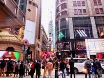 Hongkong street view Royalty Free Stock Photos