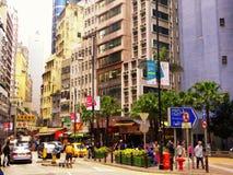 Hongkong street view Stock Photo