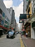 Hongkong street Stock Photo