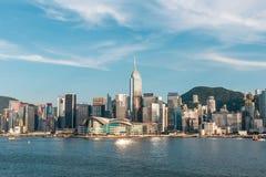 Hongkong sunny day royalty free stock image